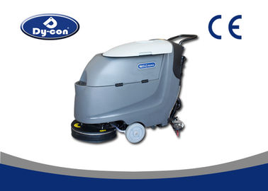 Dycon Battery Powered Floor Scrubber , 510MM Malish Brush Floor Washing Equipment