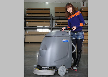 Orange Dycon Mini Cable Floor Scrubber Dryer Machine With AC Power